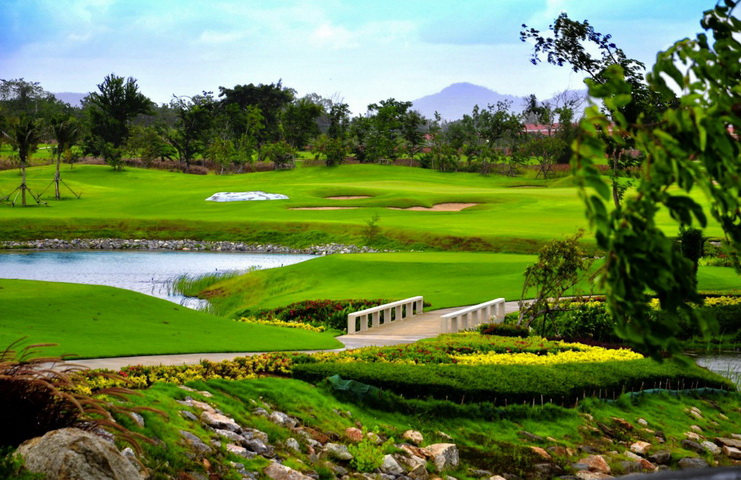 Sea pine golf course hua hin sea pines golf course in for Asian cuisine ocean pines